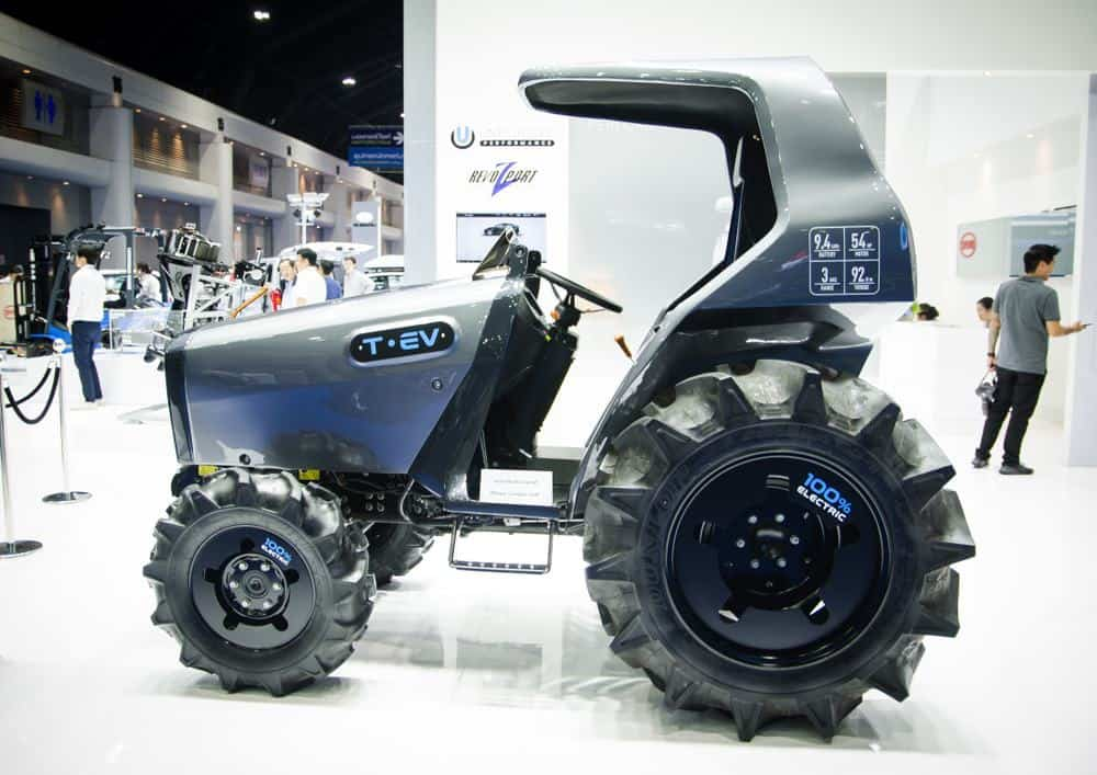 electric utility vehicles for farms