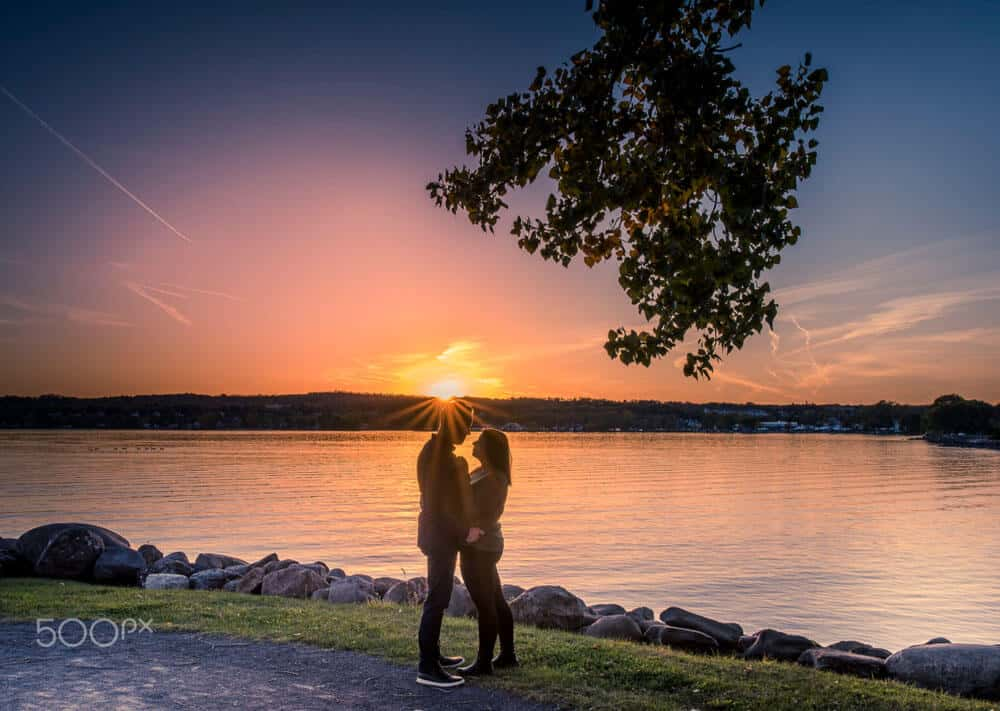 romantic Silhouette Photography