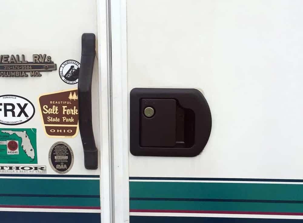 rv door lock set replacement success