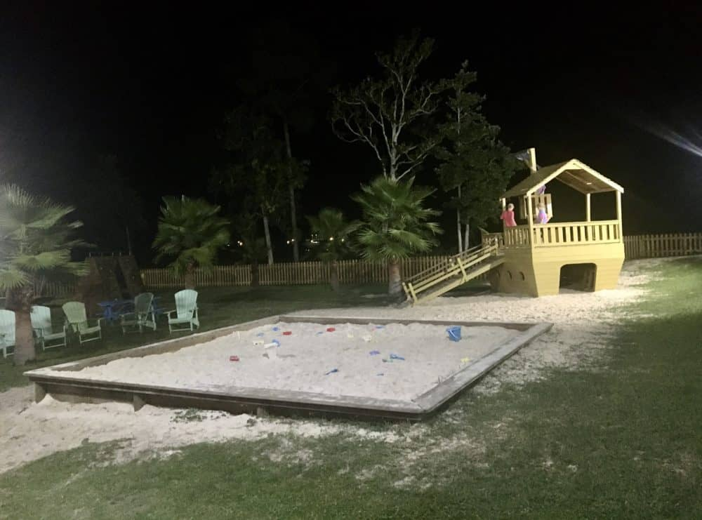 The play area at gts on the bay.