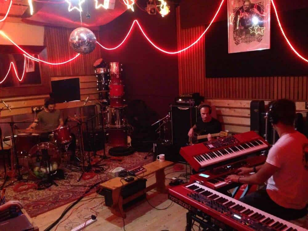 The Kings Parade at Panicbutton - Recording and Rehearsal Studio Hampton London