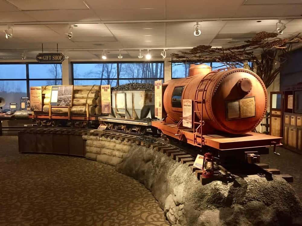 Kinzua State Park History - Train
