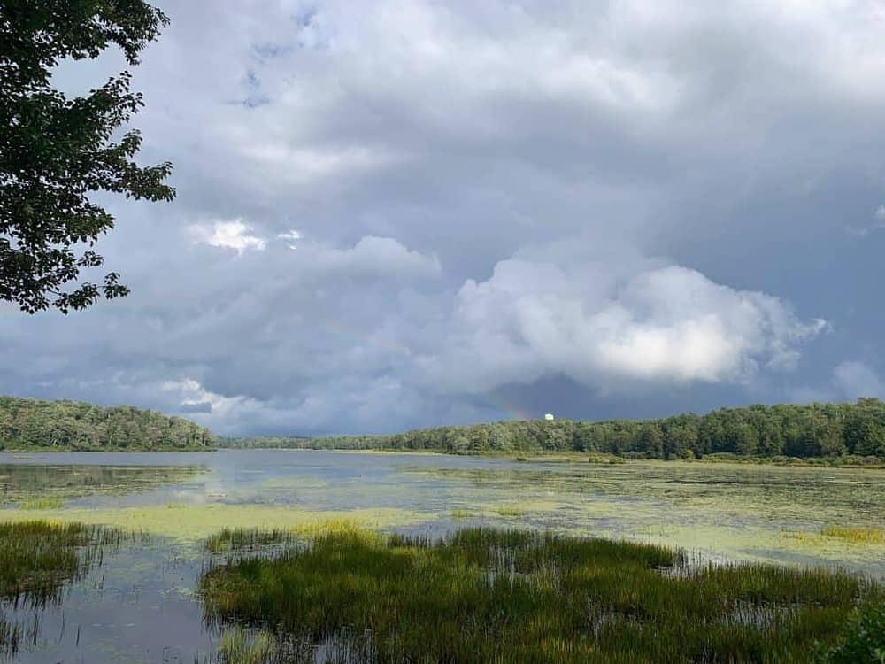 ricketts glen state park lake jean storm