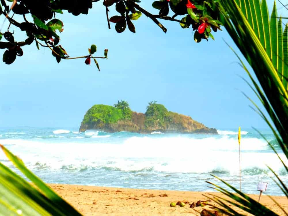 Cocles Beach Costa Rica