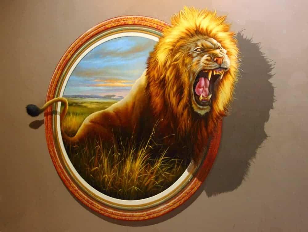 Lion symbol of Singapore