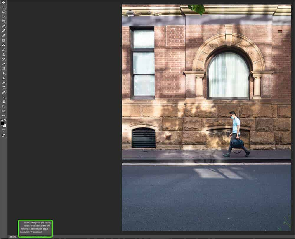check size - How to Resize an Image in Photoshop