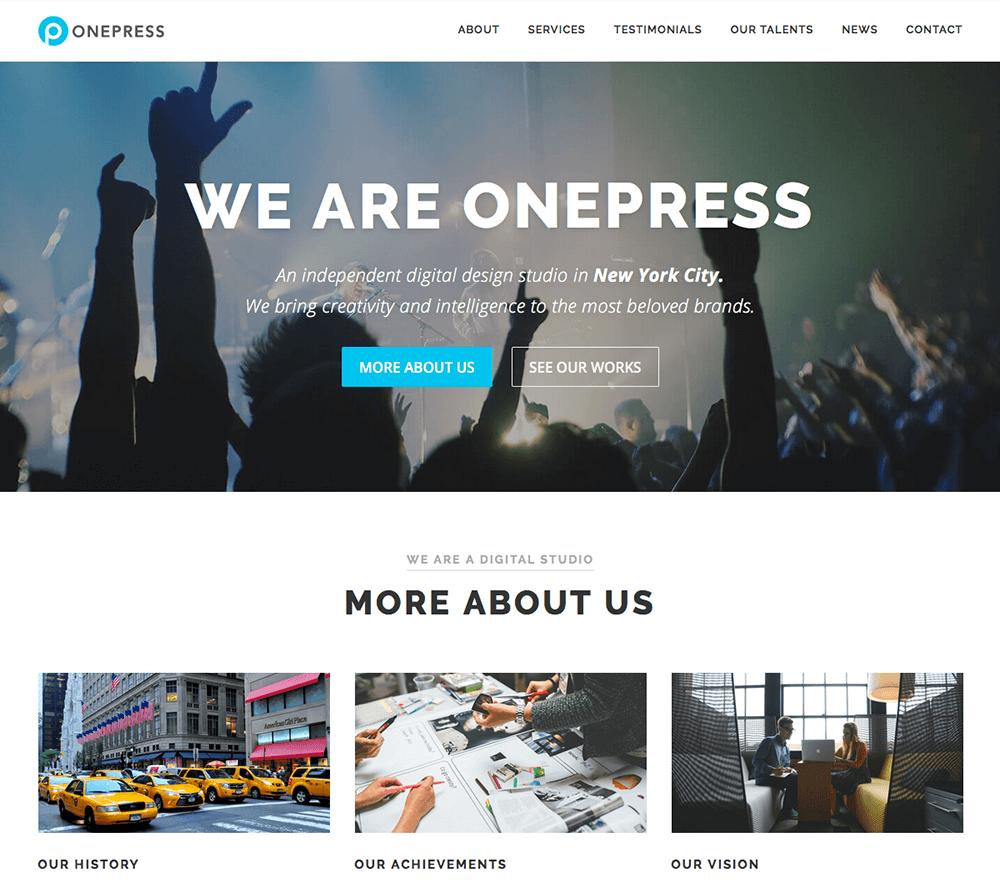 one press