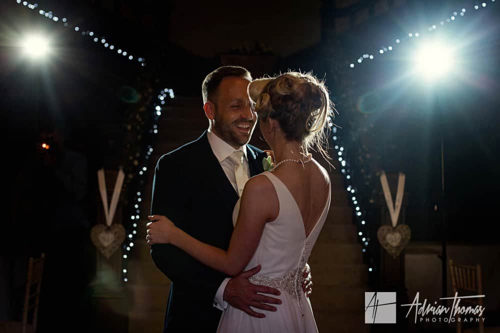 First wedding dance at Buckland Hall wedding