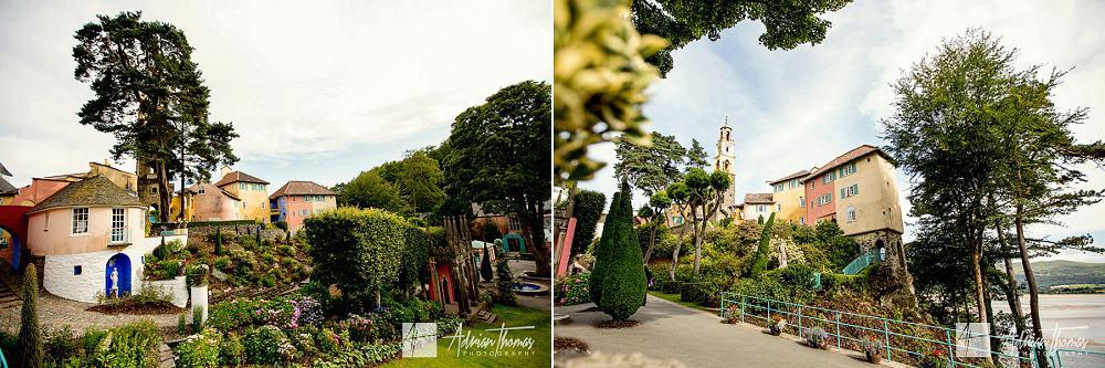 Portmeirion Village gardens and grounds