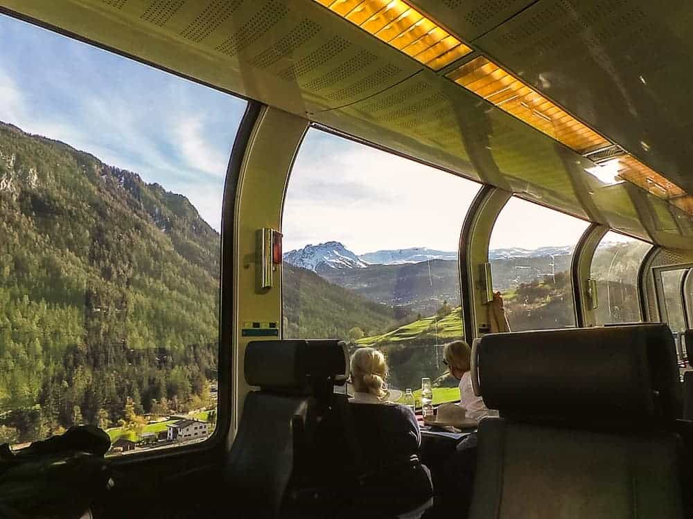 Backpacking Travel Around Europe By Train Itinerary For 2 Weeks - Bernina Express
