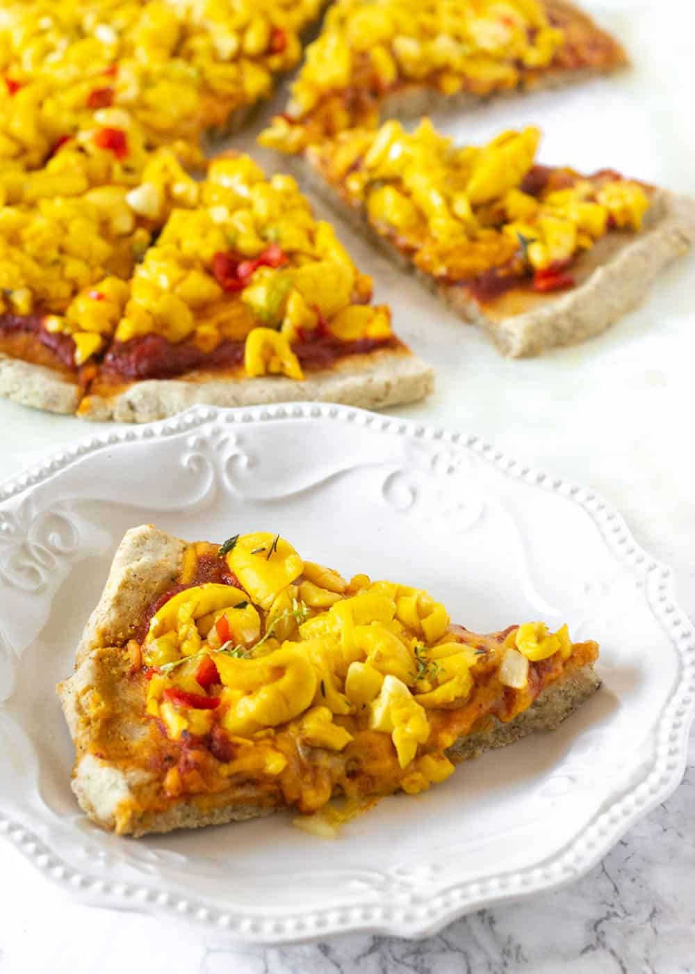 Jamaican Ackee Pizza