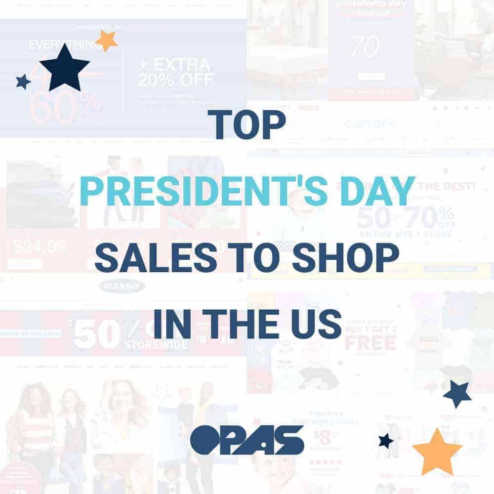 Top President's Day Sales | OPAS