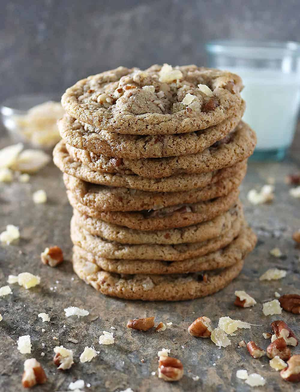 Delicious Gluten Free Ginger Pecan Cookies Photo