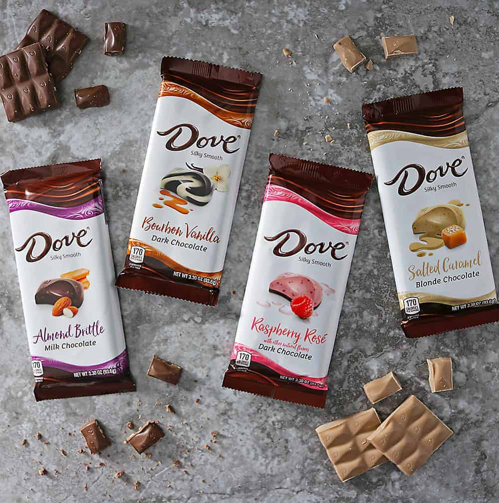 Check out these New Dove Chocolate Bars at Walmart.