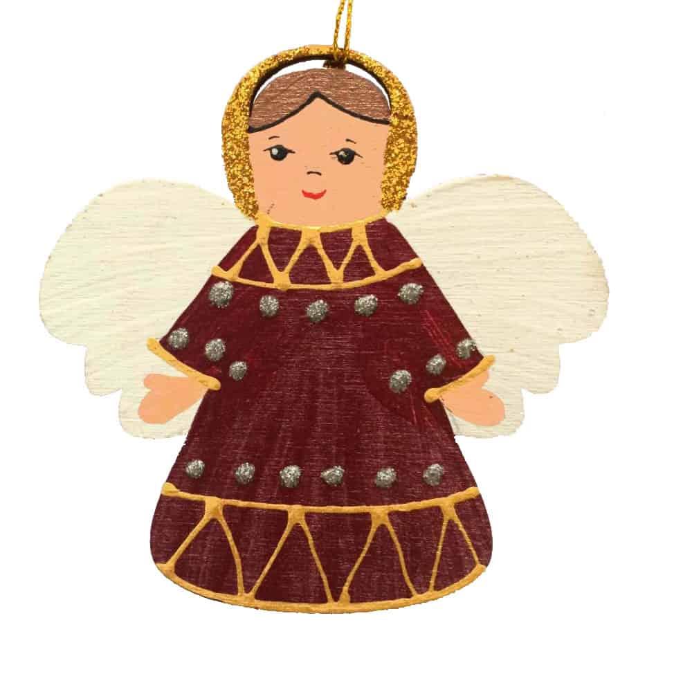 Іграшка на ялинку ангел