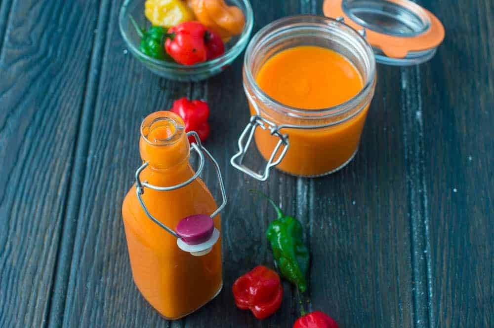 scotch bonnet pepper sauce
