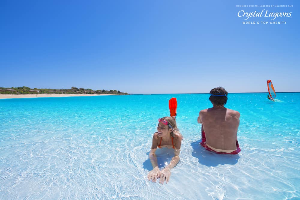crystal clear lagoon