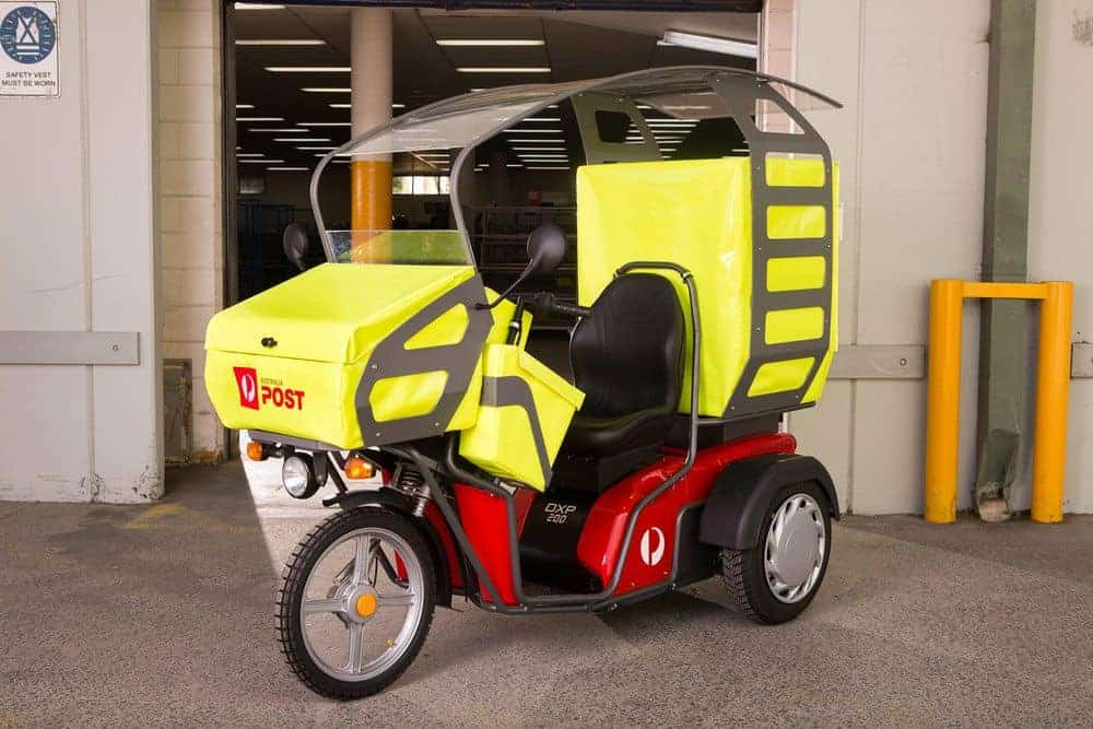 Australia Post Begins Electric Vehicle Delivery Trial