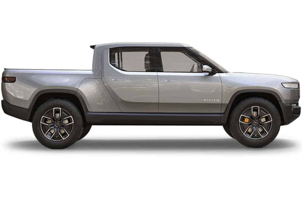 rivian electric utility truck