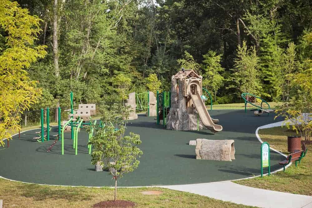 Стоимость покрытия для детских площадок.