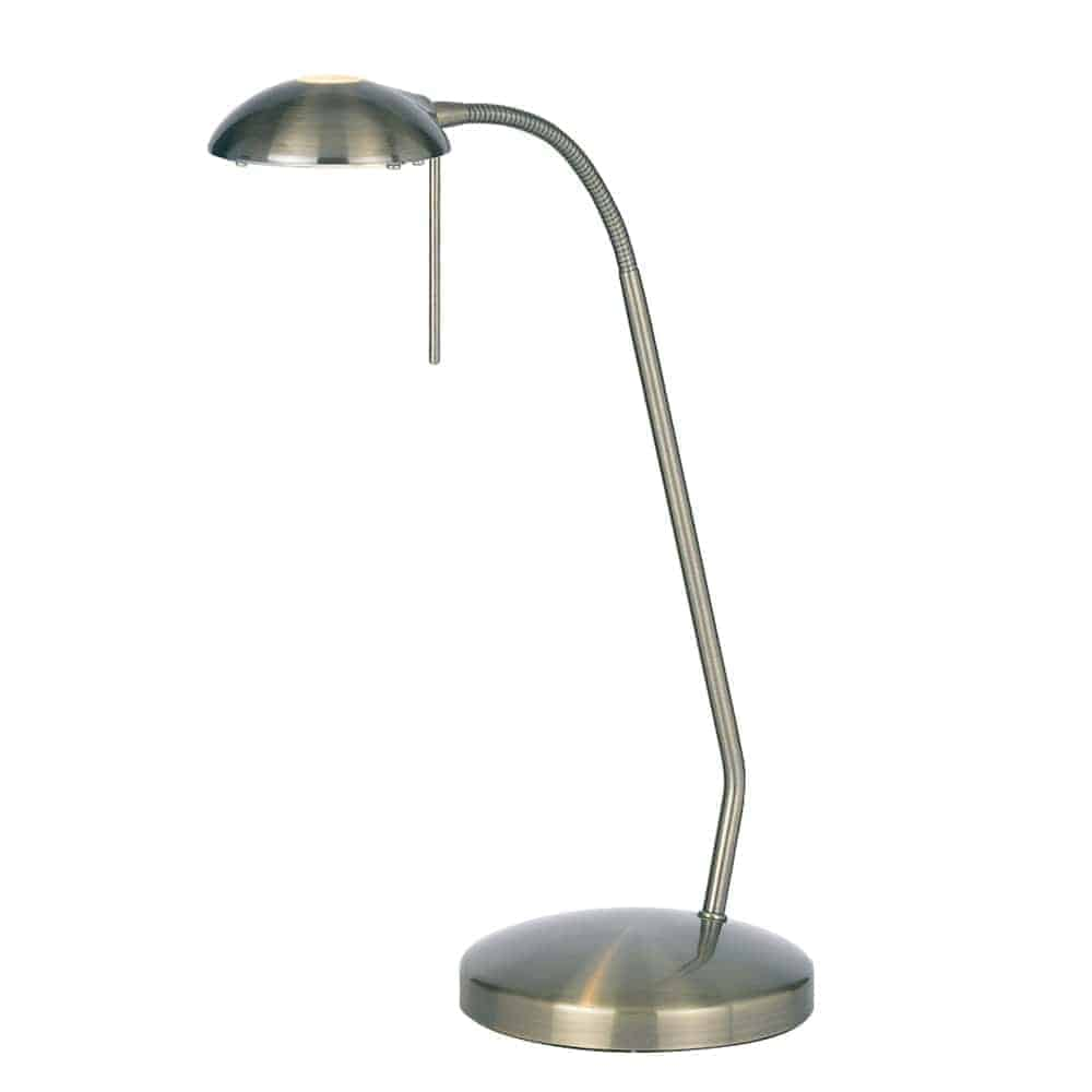 Endon 656-TL-AN Hackney 1 Light Table Lamp
