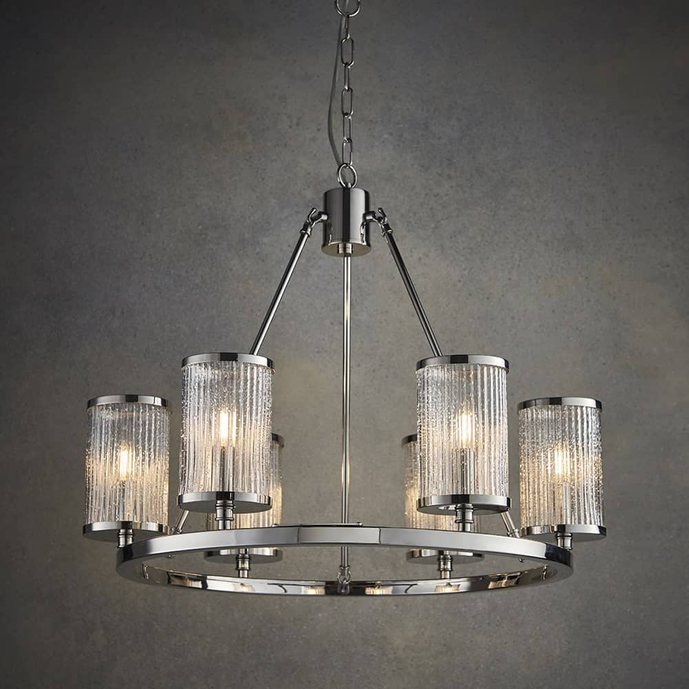 Endon 74128 Easton 6 Light Pendant