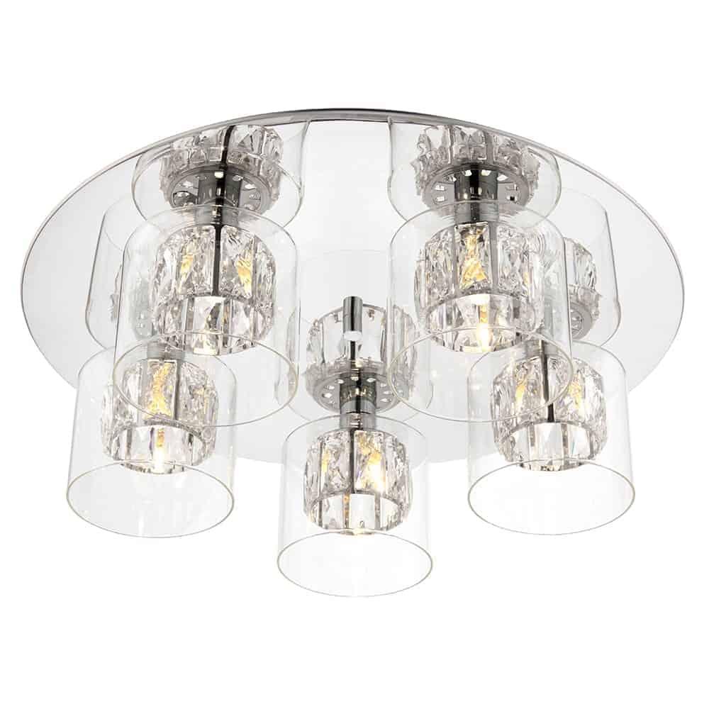 Endon 76517 Verina 5 Light Flush