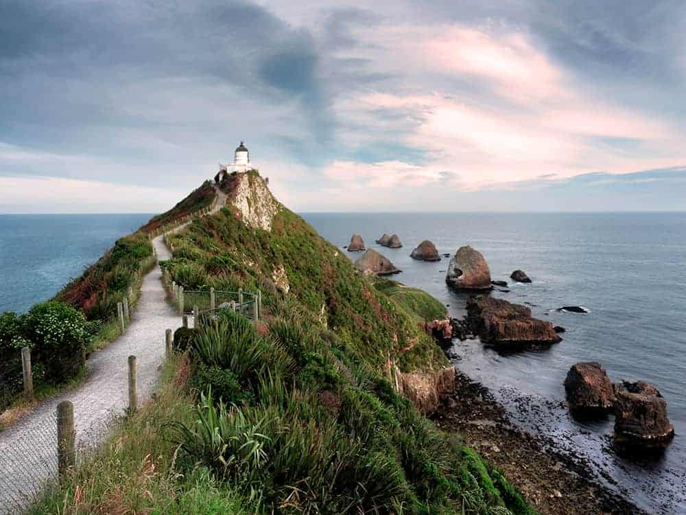 New Zealand Photos: Nugget Point Lighthouse