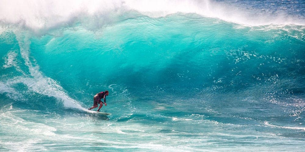 surf photography high wave