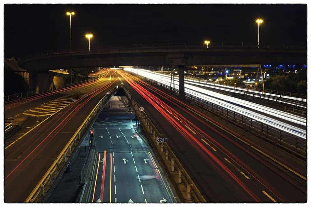 Best Photography Tips for Beginners car light trails