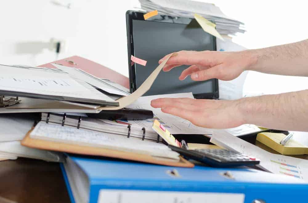 Why is a clean desk policy important