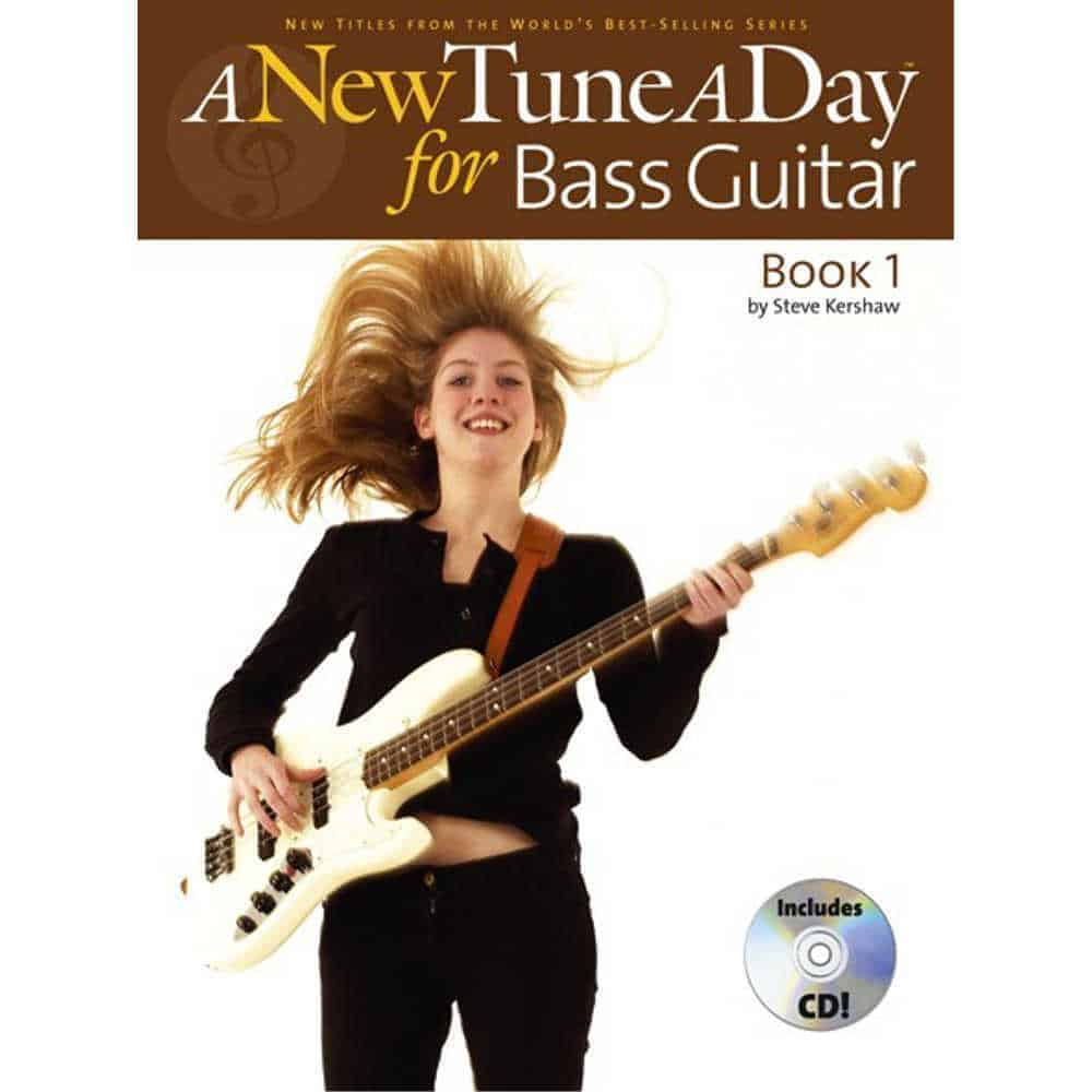 A New Tune A Day Bass Guitar Bk/Cd