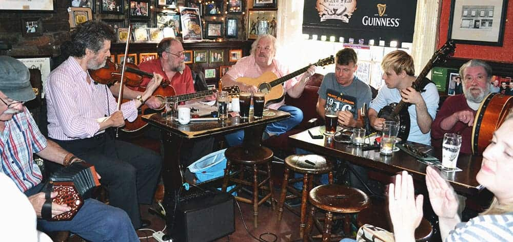 Rafferty in session at The Brazon Head, Dublin - The Irish Place
