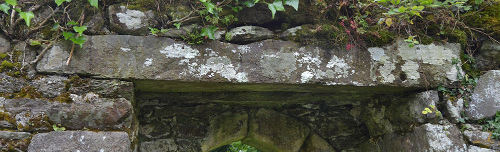 The Southern Doorway Lintel in Seskinan Church - The Irish Place