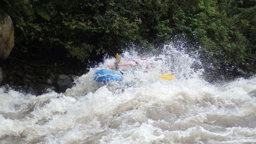 Rafting In Banos Ecuador