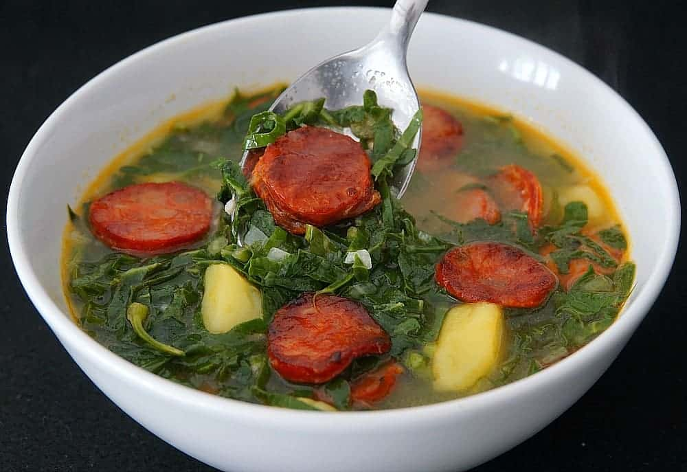 Sausage Kale Potato Soup