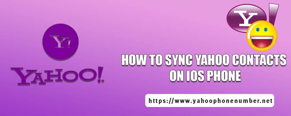 How To Sync Yahoo Contacts On IOS Phone
