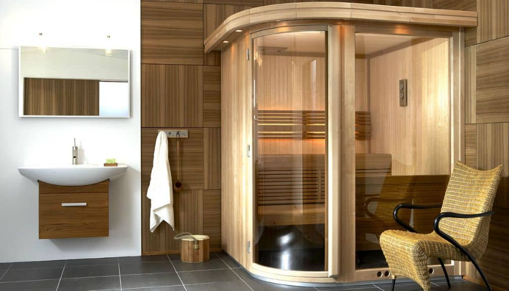 Sauna e bagno turco la casa diventa centro di benessere