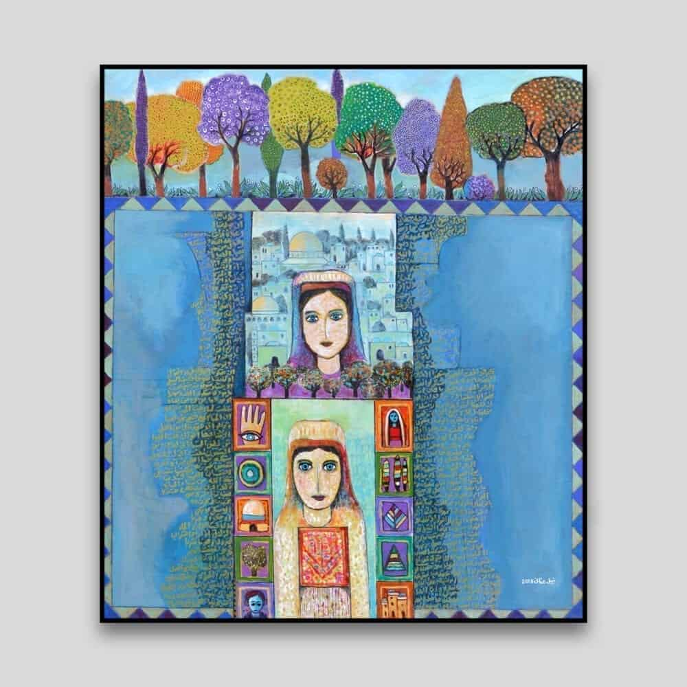 Tales by Nabil Anani - Canvas