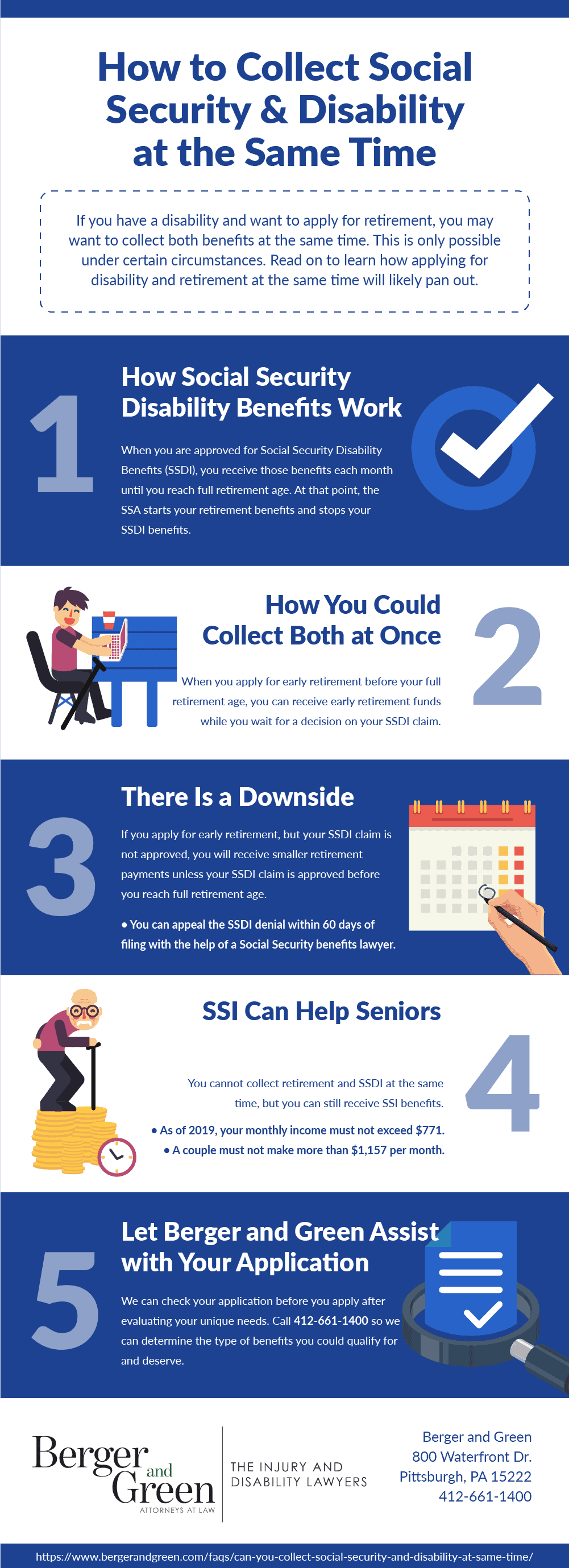 Can You Collect Social Security Retirement and Disability at the Same Time?