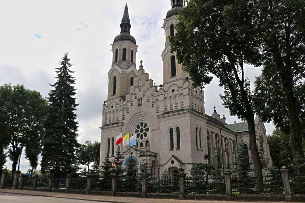 Augustow church Poland