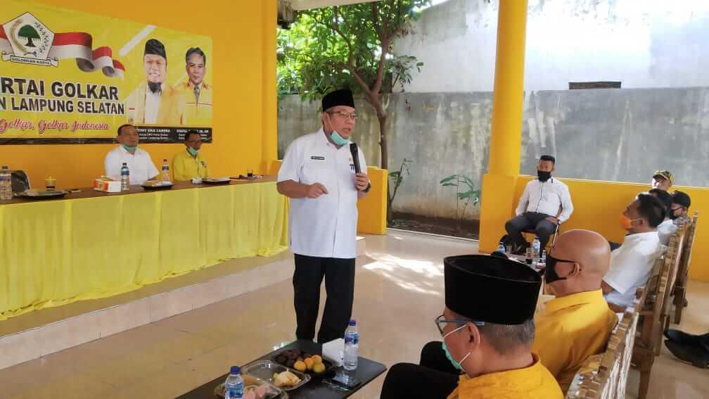 Plt. Ketua DPD Partai Golkar Lampung Selatan H. Tony Eka Candra (TEC)