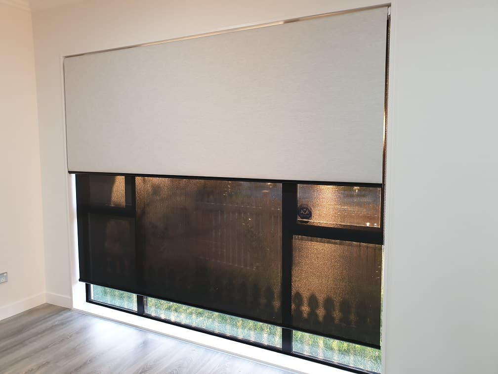 Thermal roller blinds in Lynfield