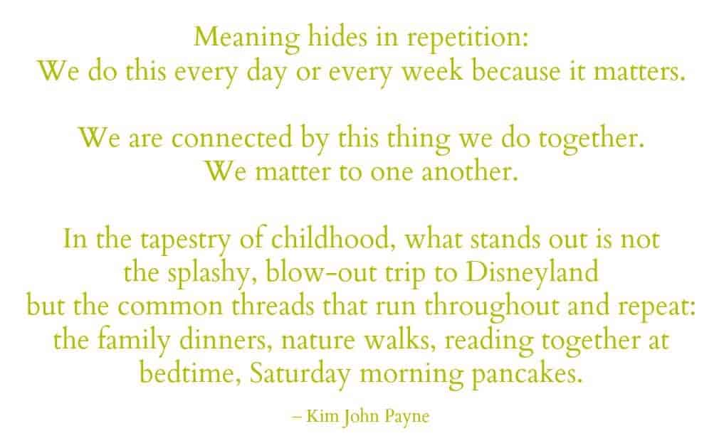 Meaning Hides In Repitition