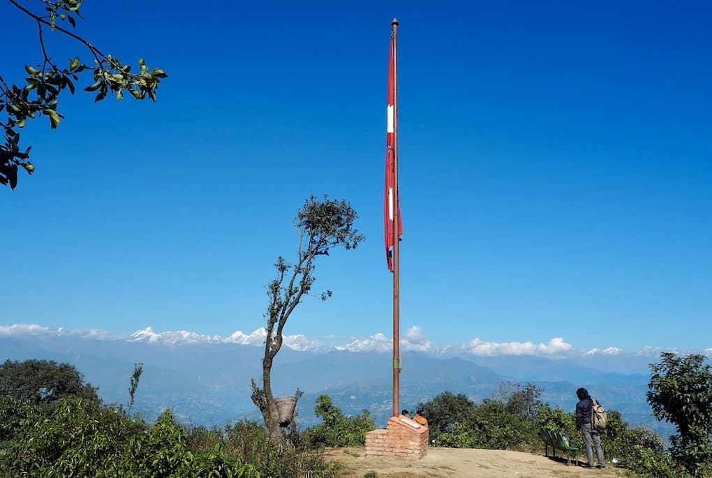 Windstille in Nagarkot