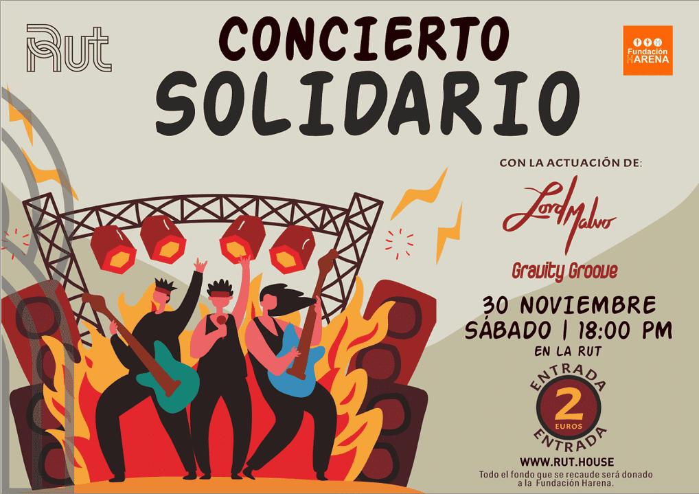 concierto solidaria residencia universitaria en malaga Rut