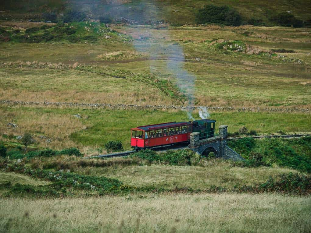 snowdonia mountain Steam railway