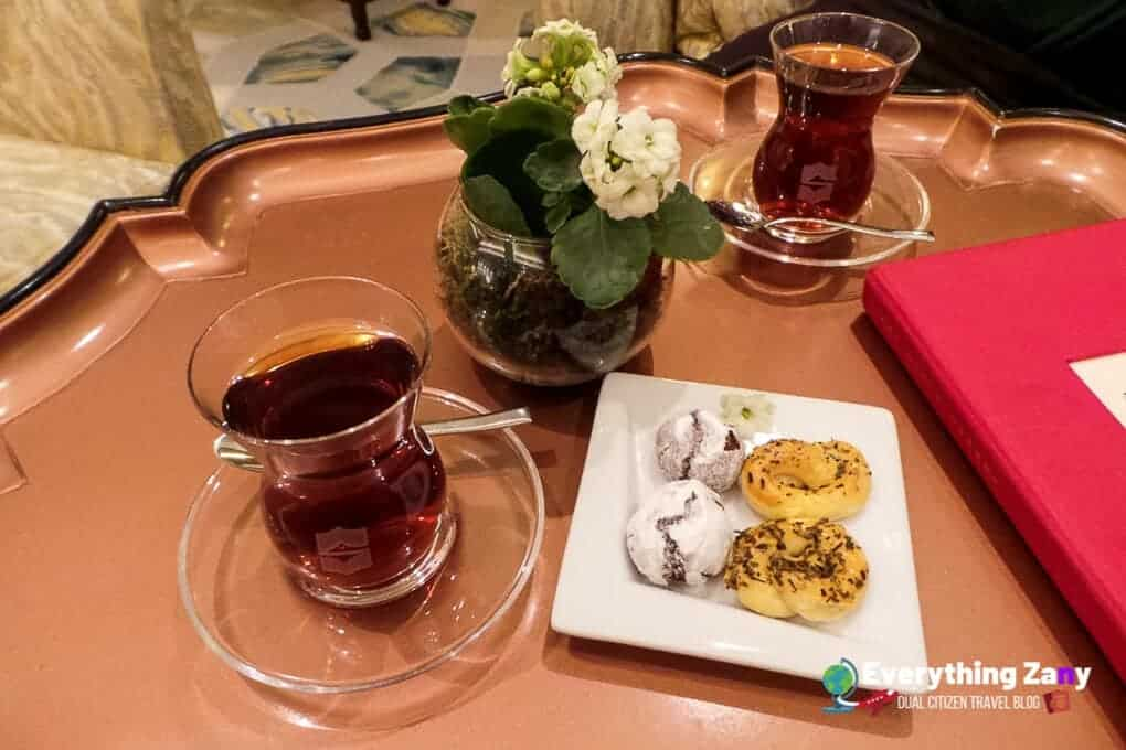 Turkish Tea in Istanbul Turkey
