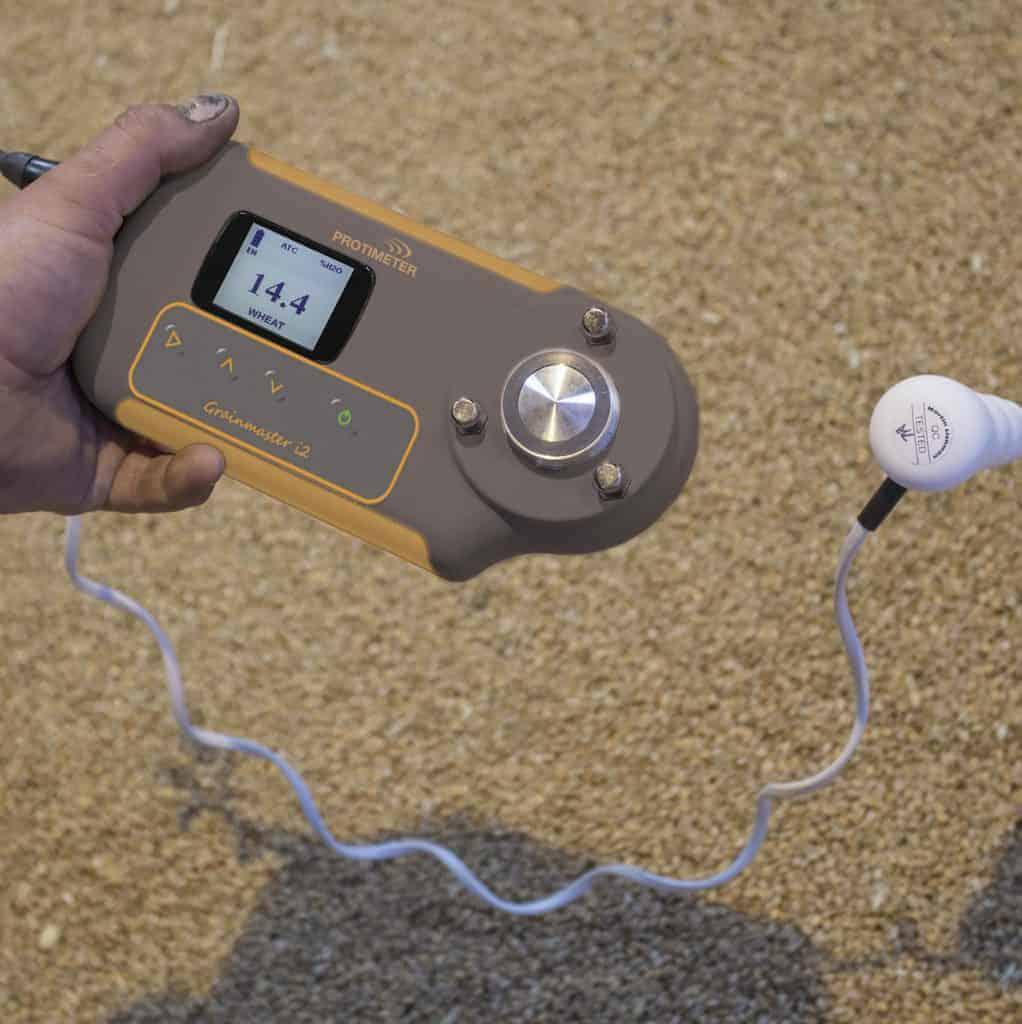 Protimeter Grainmaster i2-s Pflanzenfeuchtemessgerät mit Temperaturfühler