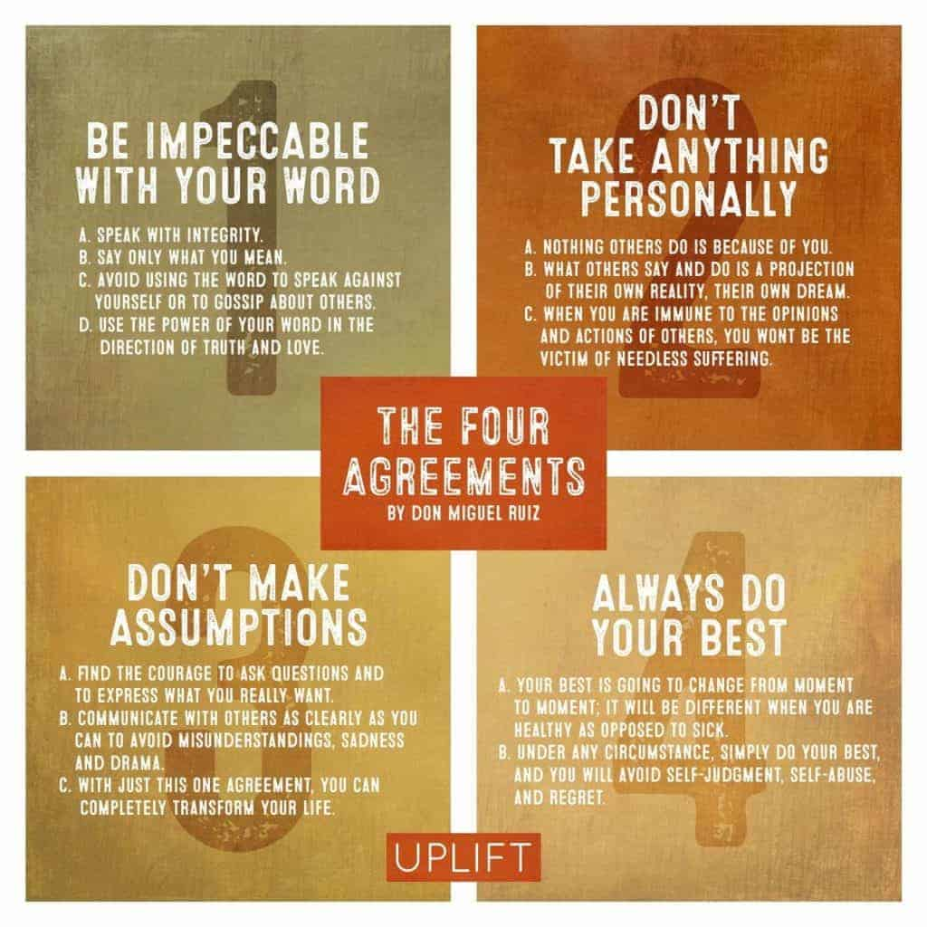 Four Don Miguel Ruiz quotes to help you be an awesome manager.